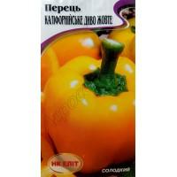 Перець солодкий Каліфорнійське Диво жовтий (НК ЕЛІТ) 0,3 г