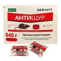 Родентицид Антищур брикет (UKRAVIT) 14 г