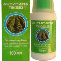 Гербіцид Антисапа Ліквід (UKRAVIT) 100 мл