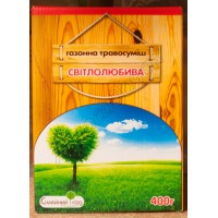 Трава газонна Світлолюбива (Сімейний сад) 400 г
